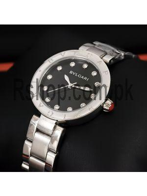 Bvlgari Black Dial Ladies Watch Price in Pakistan