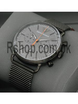 Emporio Armani Aviator Grey Dial Chronograph Watch Price in Pakistan