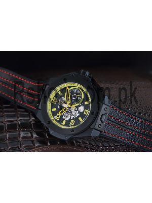 Hublot Big Bang Ferrari Black Watch Price in Pakistan