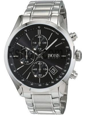 Hugo Boss Grand Prix Chronograph Black Dial Watch Price in Pakistan