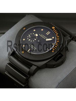 Panerai Luminor Submersible Black Ceramic Watch Price in Pakistan
