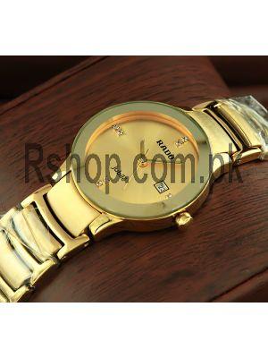 Rado Centrix Jubile Golden Watch Price in Pakistan