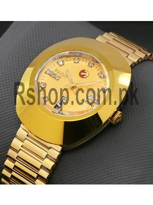 Rado Diastar Full Gold Men's Watch Price in Pakistan