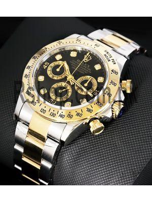 Rolex Cosmograph Daytona Two Tone Swiss Quality ETA Movement 7750 Watch Price in Pakistan