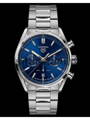 TAG Heuer Carrera Calibre Heuer 02  Blue Dial Watch
