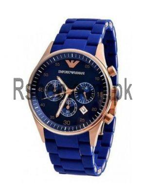 Emporio Armani Analogue Silicon Royal Blue Dial Watch Price in Pakistan