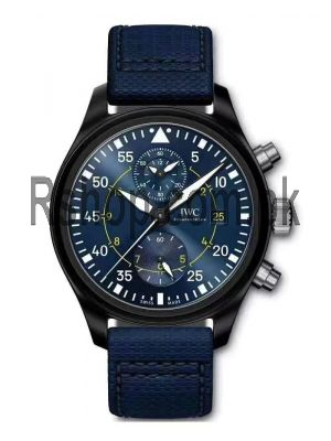IWC Pilot's Chronograph Edition Blue Angels Watch Price in Pakistan