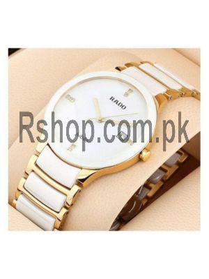 Rado Centrix Jubile White Watch Price in Pakistan