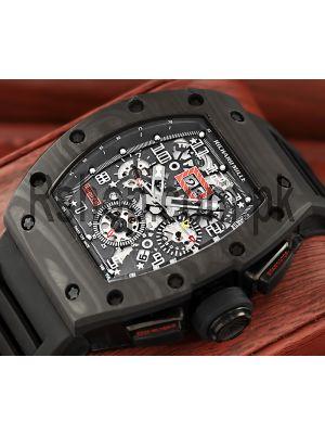 Richard Mille RM 011 FM Carbon Fiber Watch Price in Pakistan